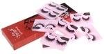 1/2/5Pairs Woman Makeup Cross Charming Soft False Eyelashes Synthetic Fiber