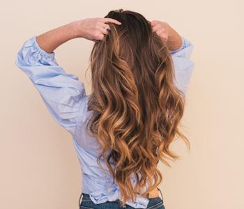 Капсула для роста волос на голове